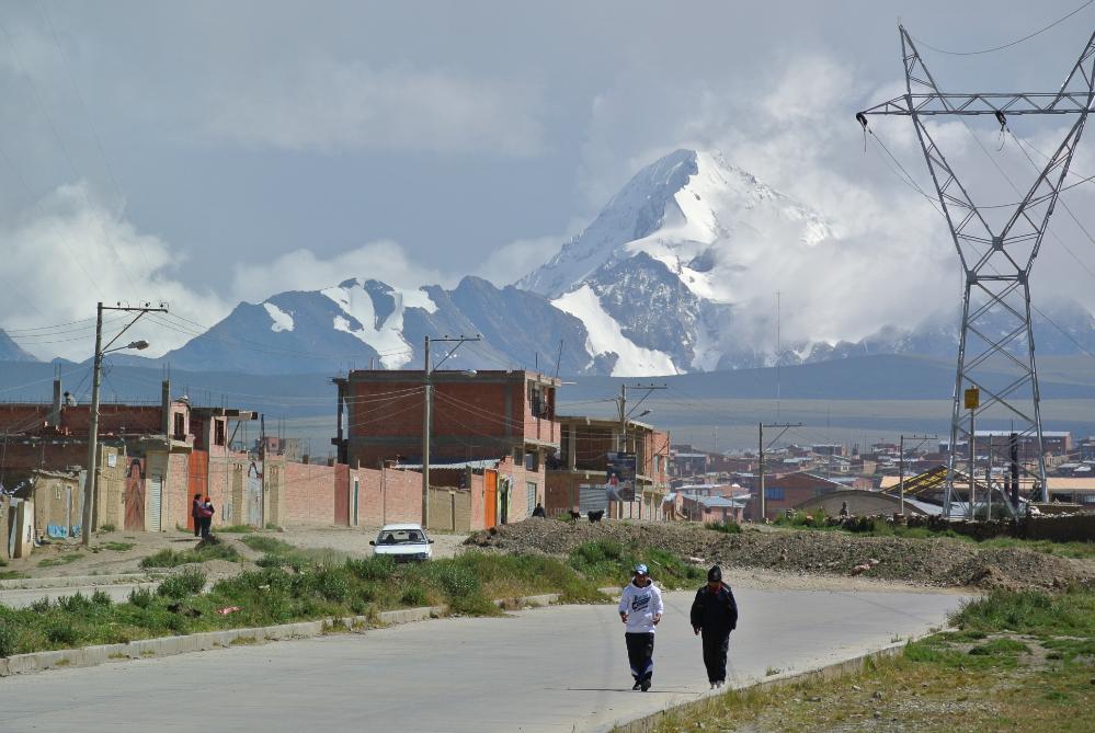 Cambio climático en El Alto, Bolivia
