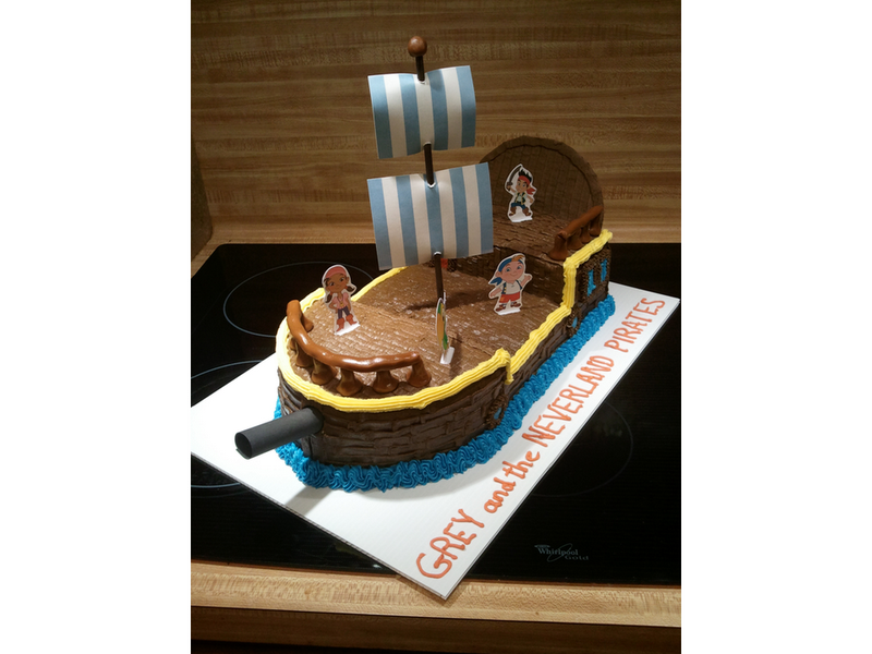 jake and the neverland pirates cake walmart - photo #39