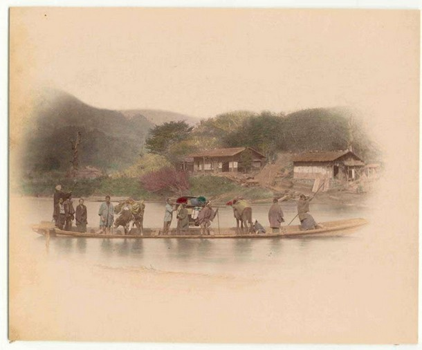 Transport In Japan 100 Years Ago