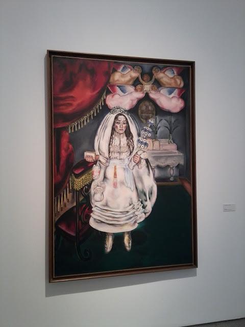 María Blanchard, Museo Reina Sofía, Cubismo, Pintura figurativa, La communiante, La comuniante,