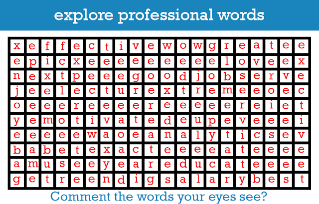 Professional Words Puzzle