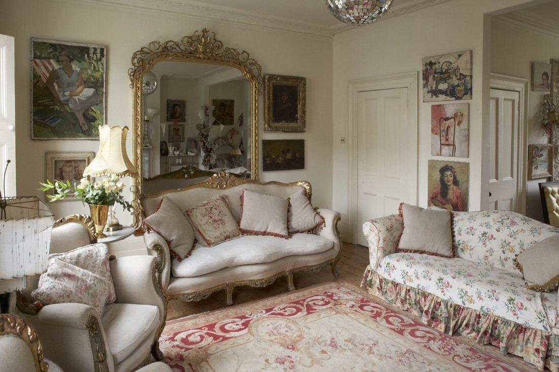Un sal n al m s puro estilo british decorar tu casa es - Salones con estilo fotos ...
