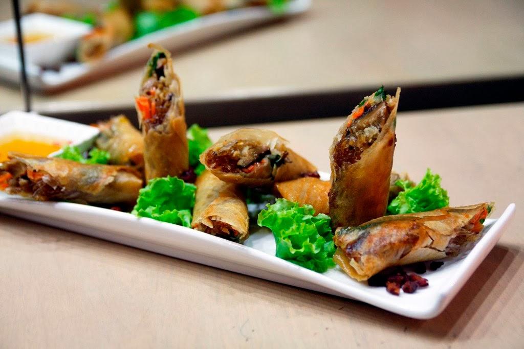 Bagnet Spring Rolls Pino Resto Bar Jupiter Street Makati