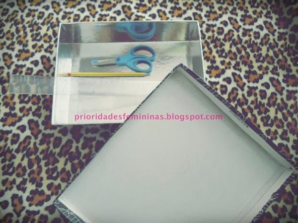 tesoura, lápis, caixa, régua