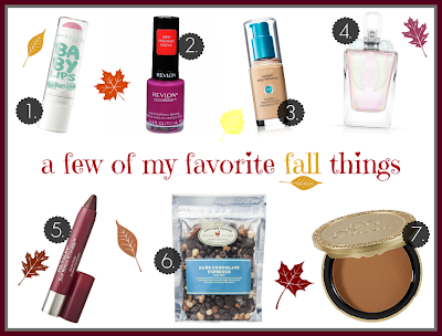 Makeup Your Mind's Fall Favorites || makingup-your-mind.blogspot.com