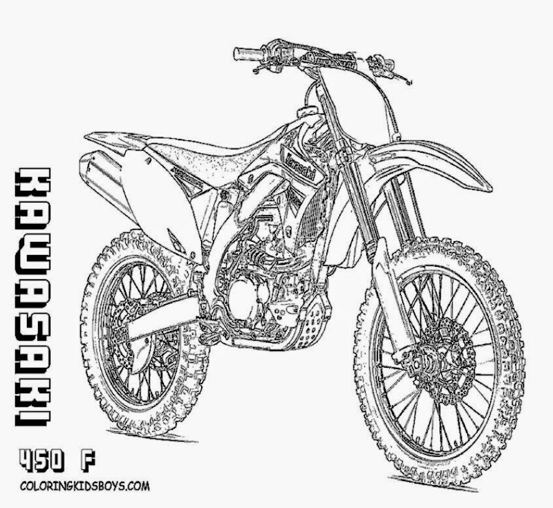 Dirt bike coloring sheets printable 7 image for Motosport templates