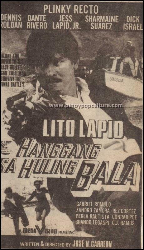 Hanggang Sa Huling Bala, Lito Lapid