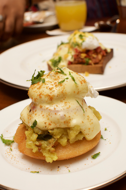 Eggs Benedict, Fusion and Breakfast at Park Hyatt