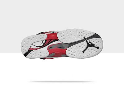 Air Jordan Retro 8 Kids' Shoe 305368-103