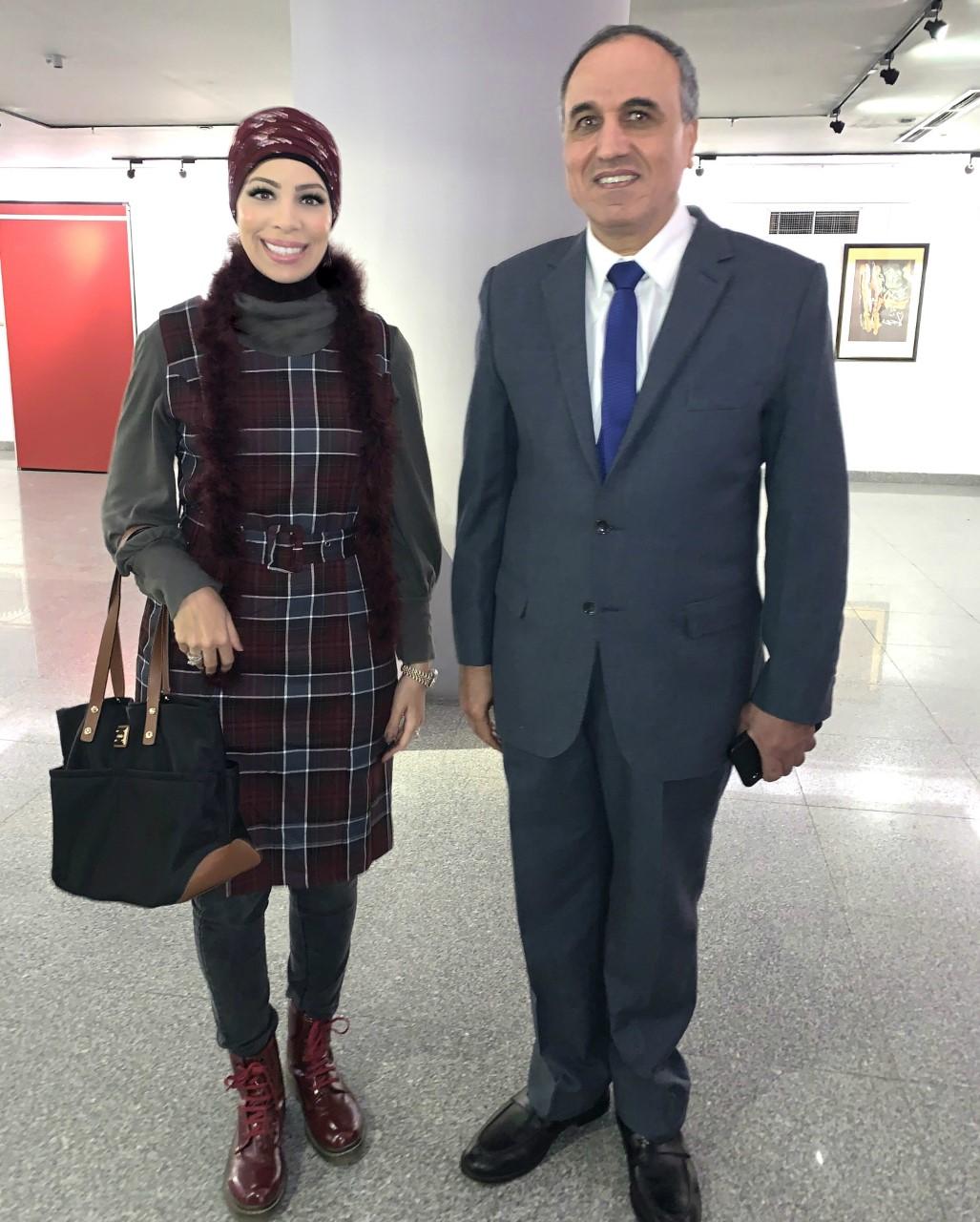 مع دكتور عبد المحسن سلامة رئيس مجلس إدارة مؤسسة الأهرام الصحفية  10-12-2019