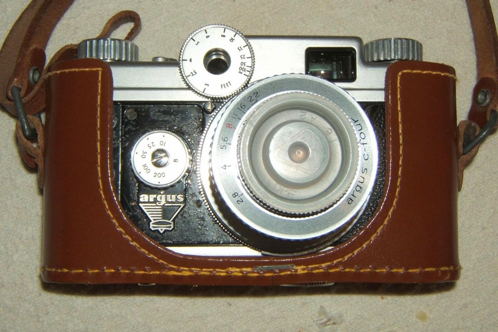Dani's camera in a case