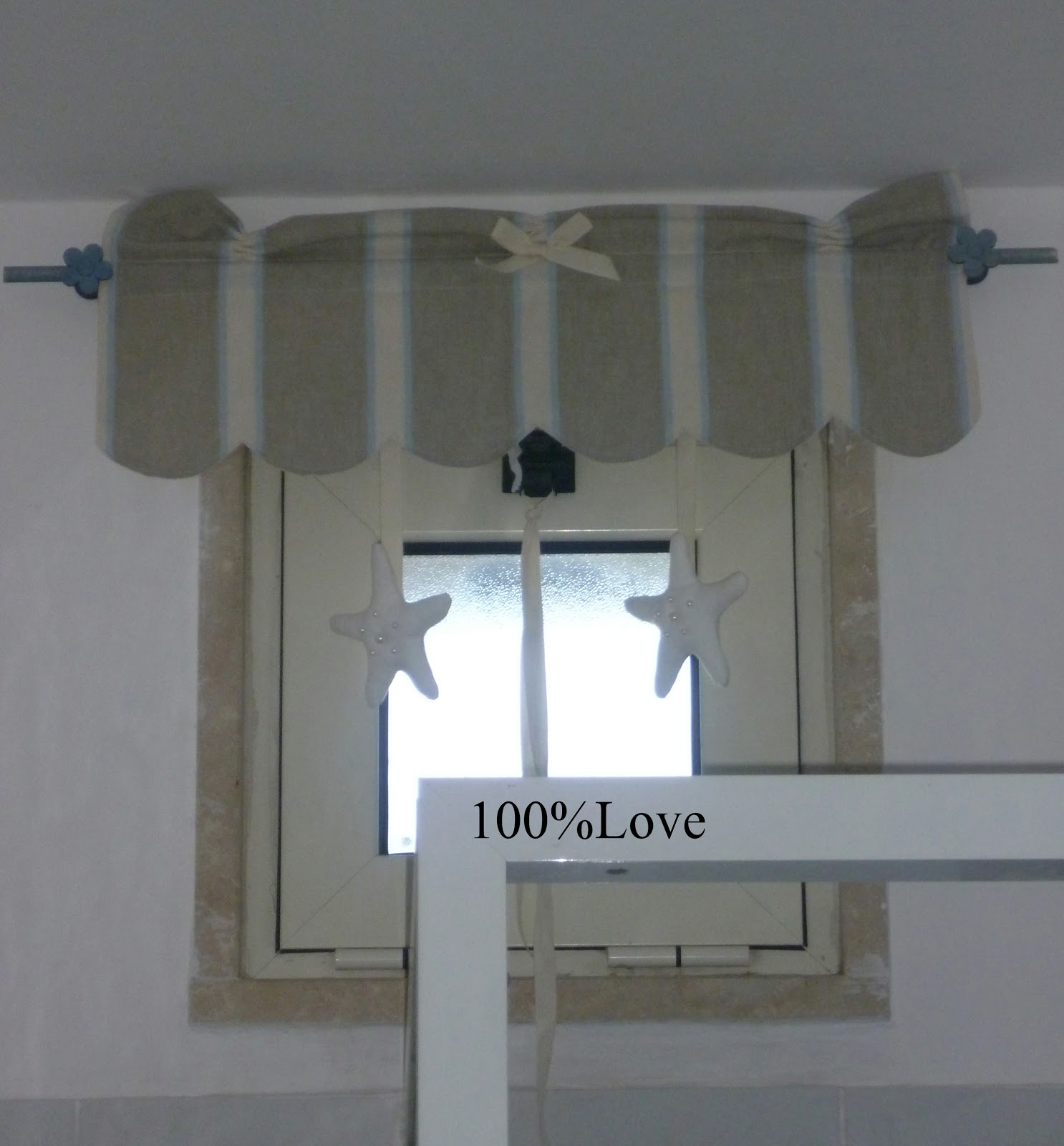 100%LOVE: Tende Country bagno