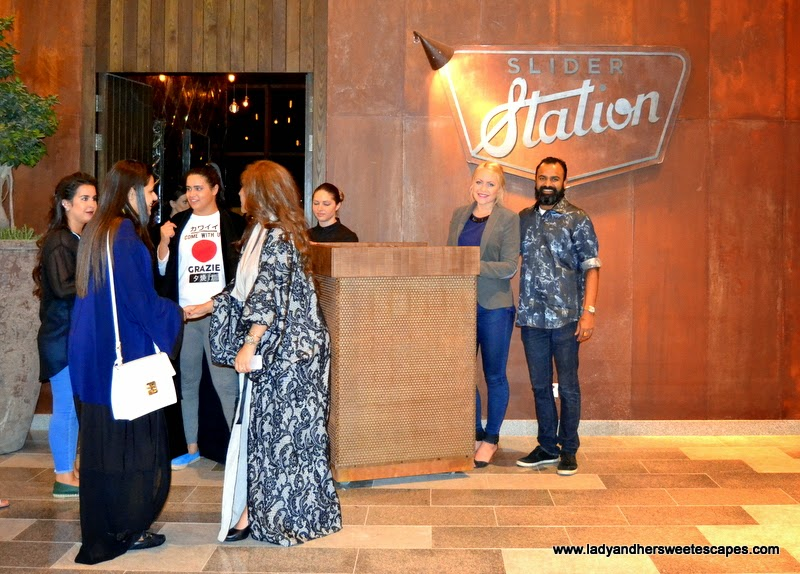 Slider Station VIP pre-opening in Dubai