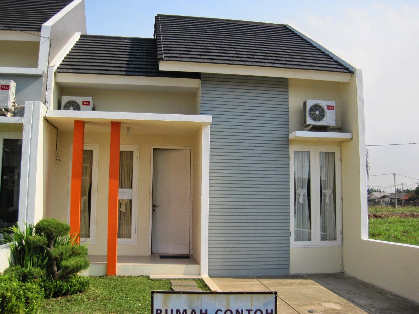 Warna Cat Rumah Cerah Minimalis