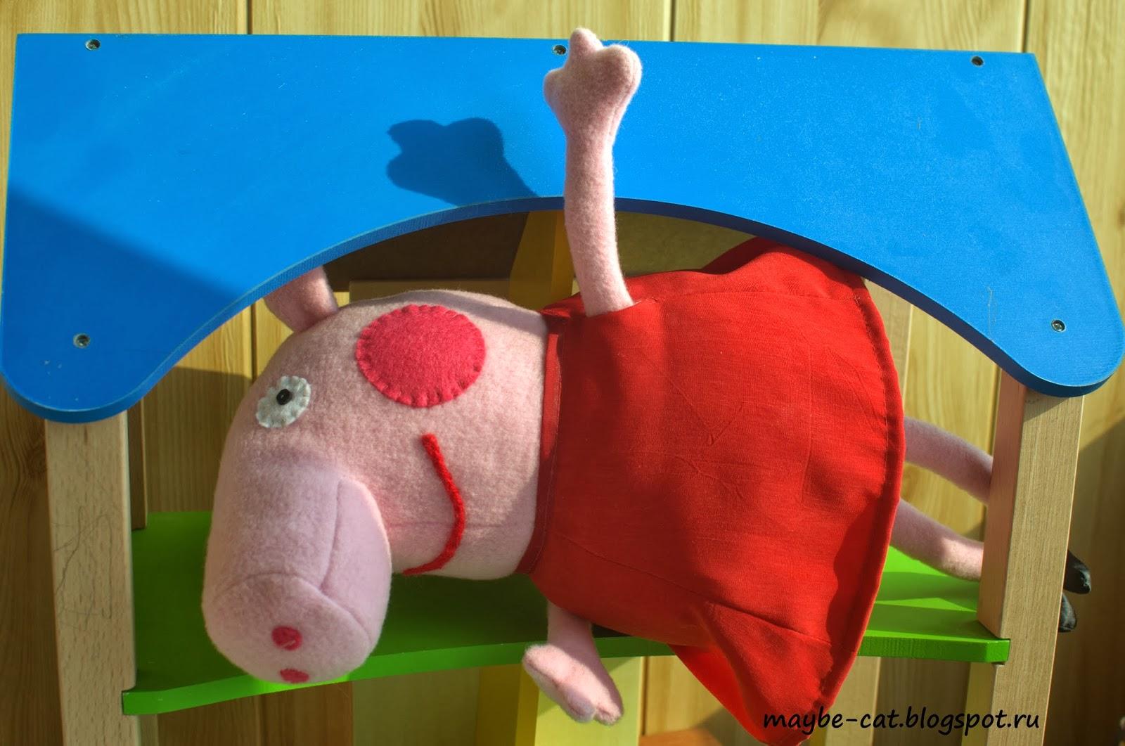 Сшить костюм свинки пеппы