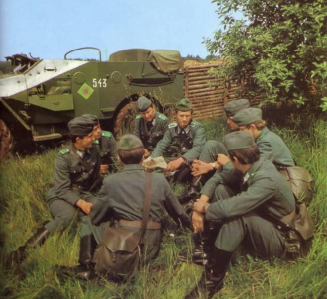 east german bdu