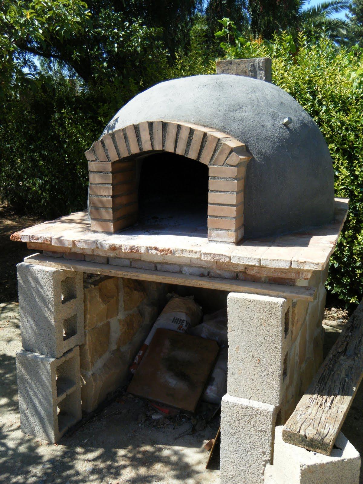 Mundocharly construccion de un horno de le a capitulo - Hornos a lena construccion ...