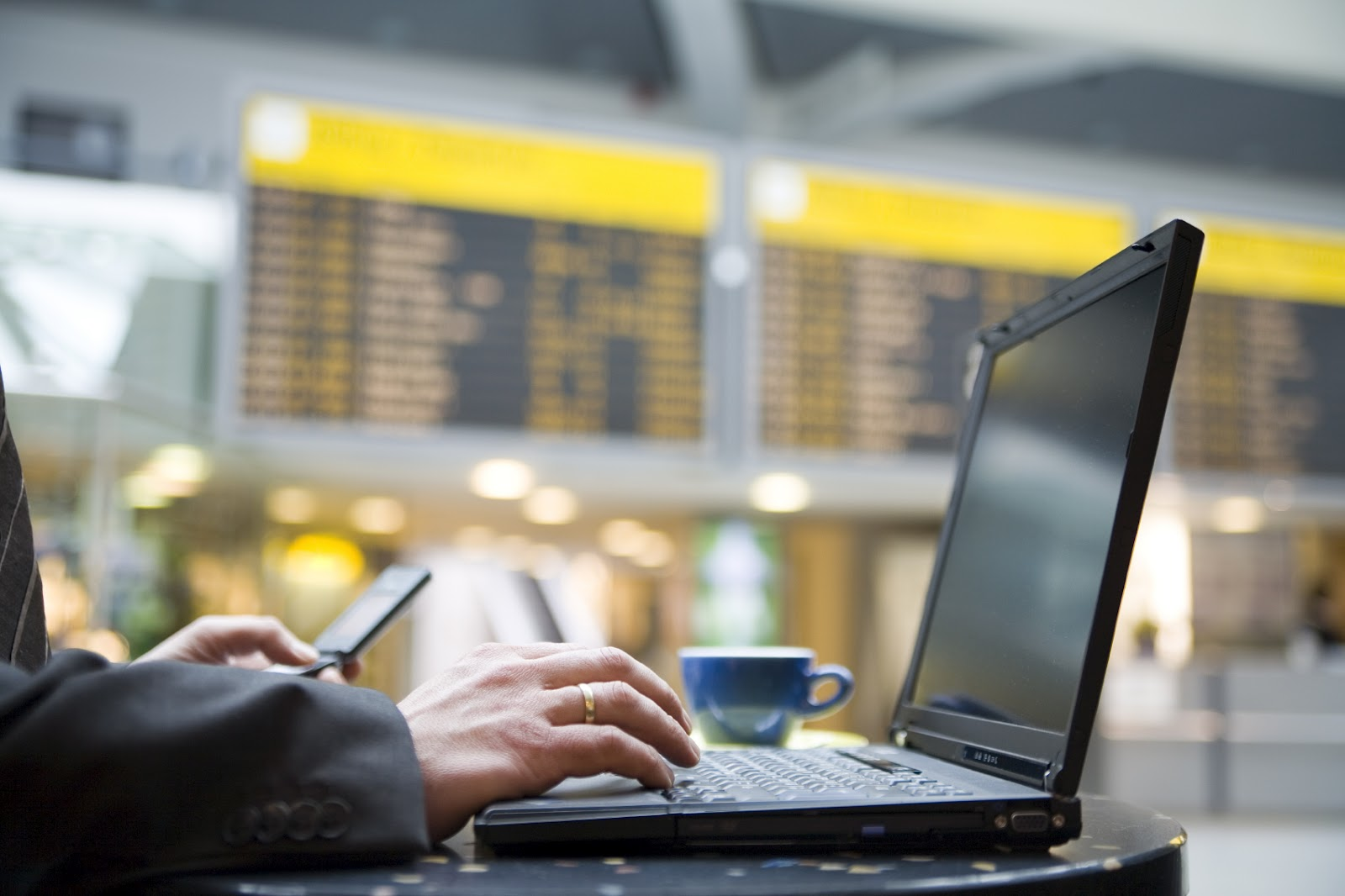 Image result for laptops at the airport