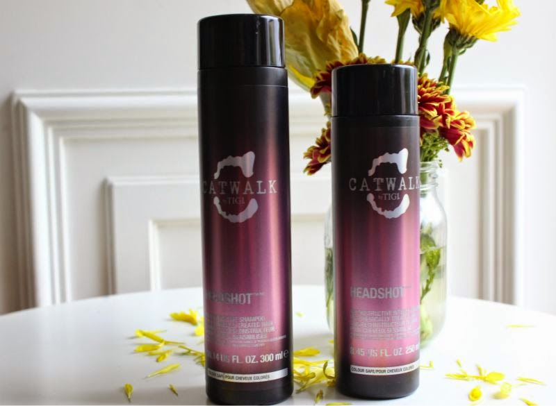 Tigi Headshot Reconstructive Shampoo and Conditioner