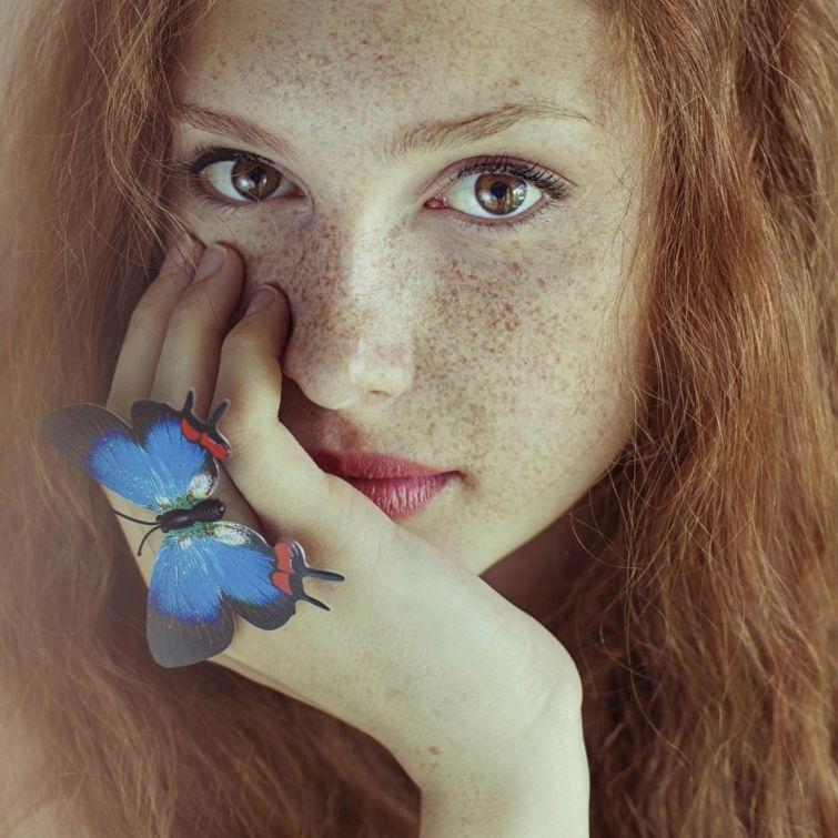 Фото красивых рыжих девушек (11 фото)