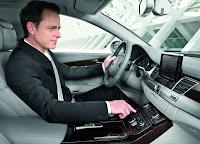 Audi A8 L instrument panel