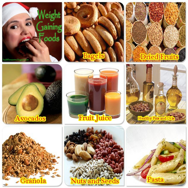 best weight gain foods