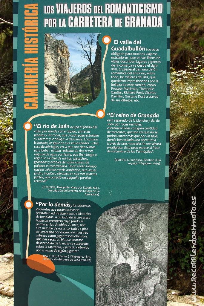 Viajeros del romanticismo por la carretera de Granada