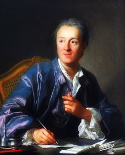 Portrait de Denis Diderot, L. M. Van Loo, 1767