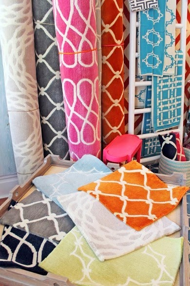 COCOCOZY rugs at Lotus Bleu store shop in San Francisco