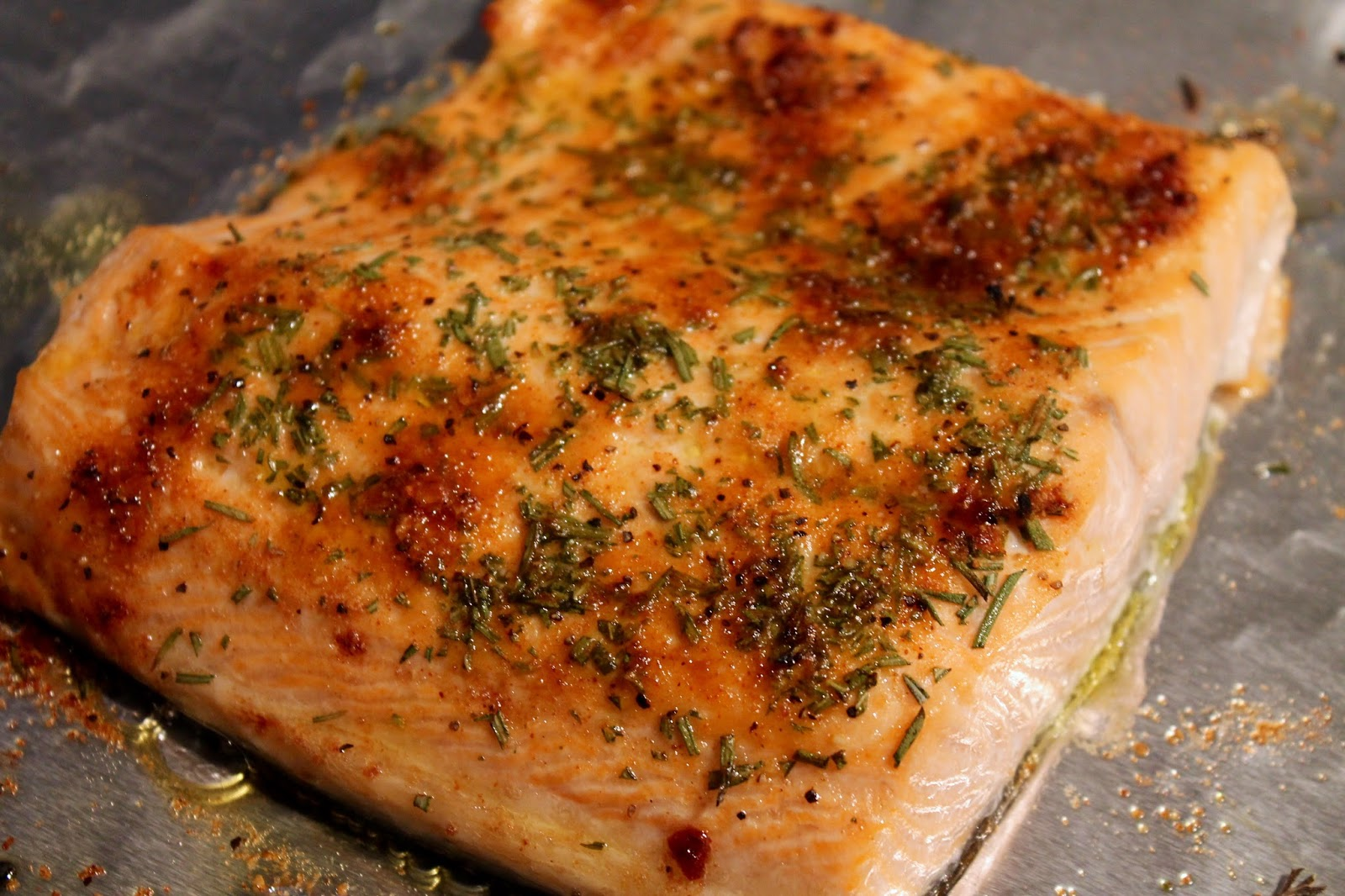 How To Cook Salmon Dine Out: Mangia Dry Rub: Broiled Salmon With Saut�ed