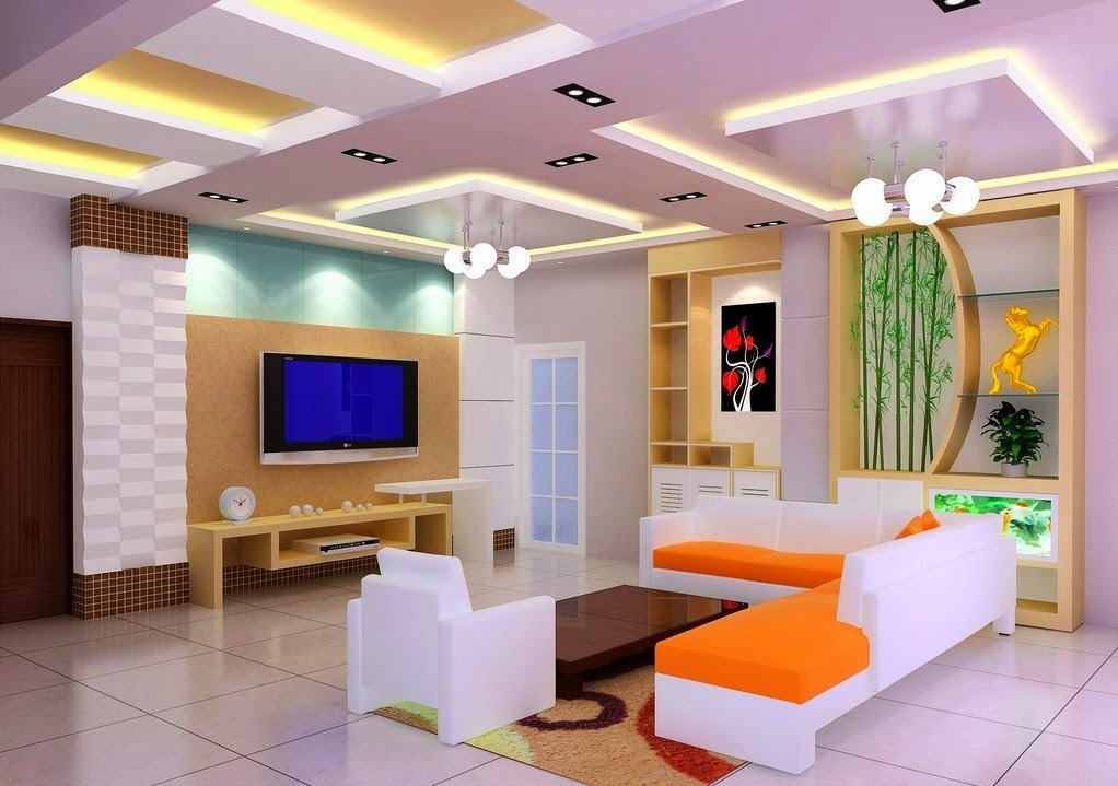 3d living room design for Designers room