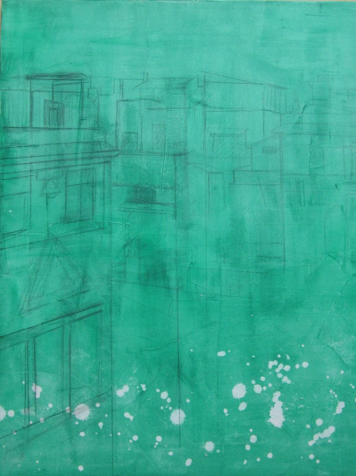Manchas de pintura arte related keywords manchas de for Pintura verde agua