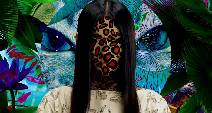 KENZO Paris Resort 2013 Electric Jungle
