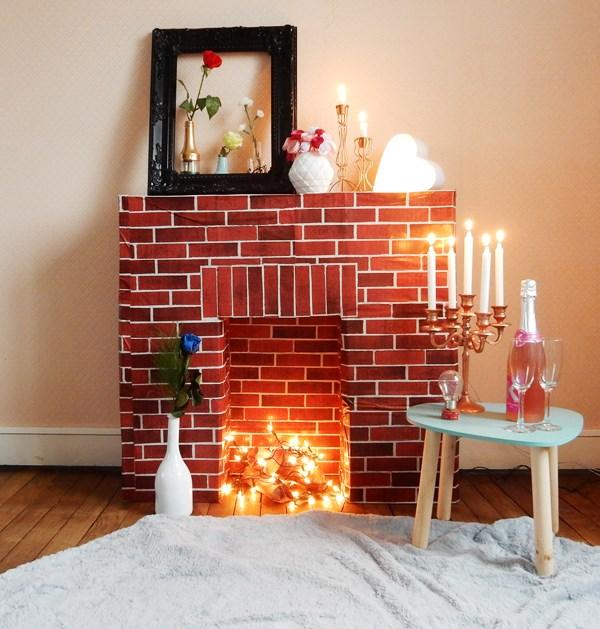 Häufig Saint Valentin au coin du (faux) feu - Caro Dels - Blog DIY et  PR04