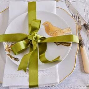 Ideias diferentes de decoração de mesa de Natal