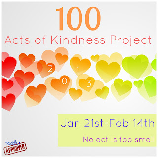 The Challenge: 100 Acts of Kindness