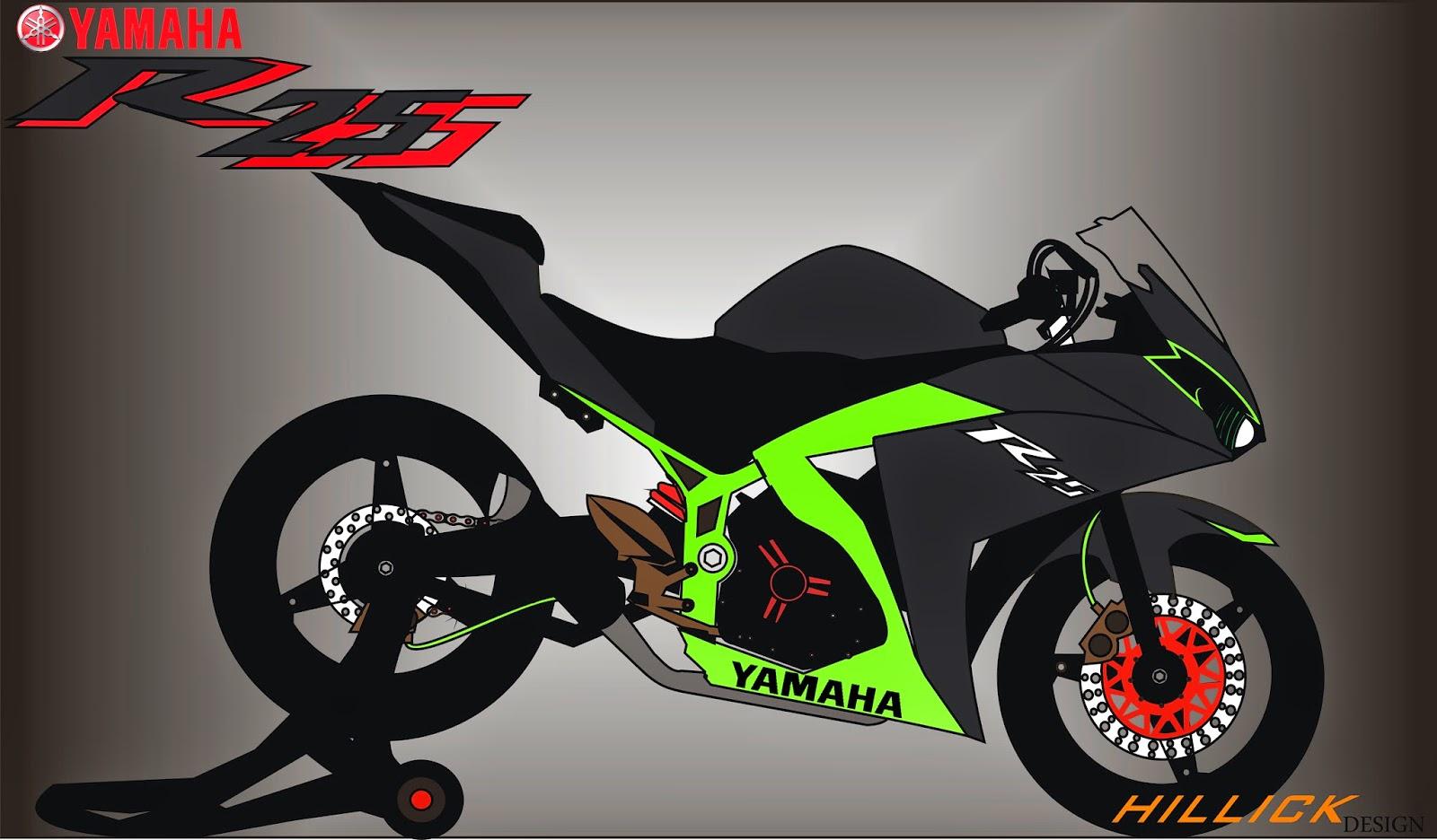 Kumpulan Gambar Sketsa Motor Ninja Rr Terlengkap Term Modifikasi