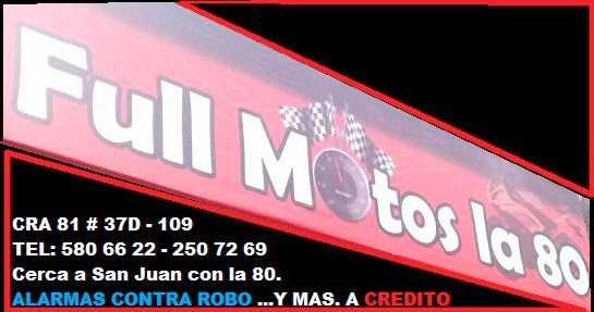 FULL MOTOS LA 80