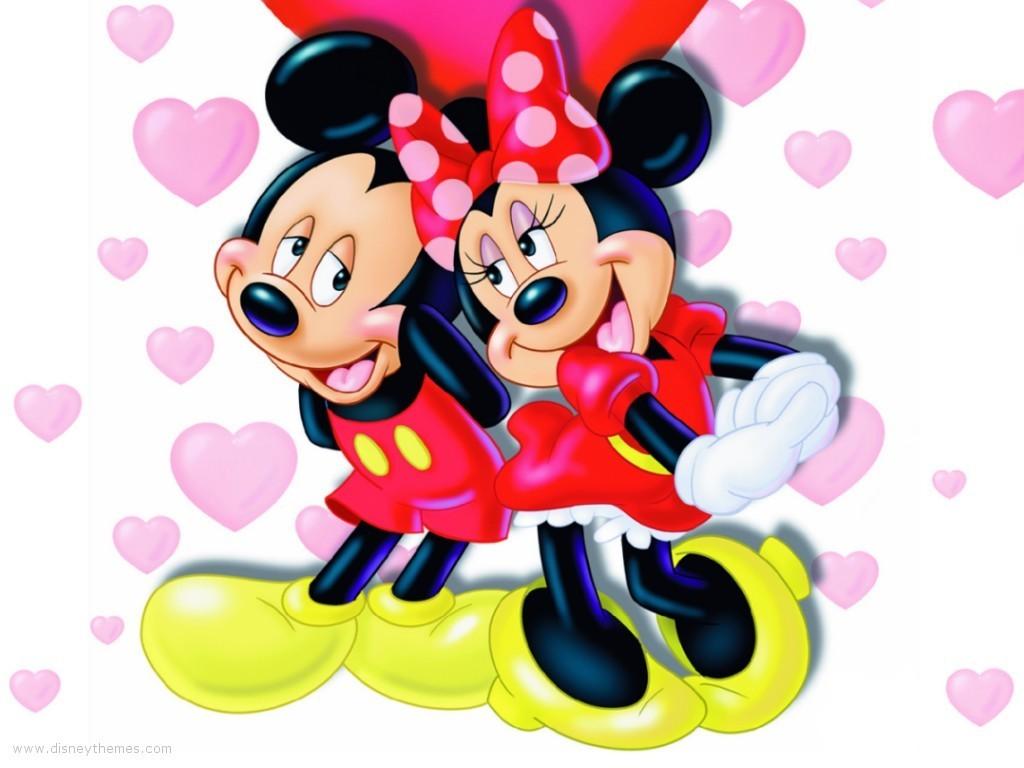 Mickey And Minnie Wallpaper Mickey And Minnie 5998203 1024 768
