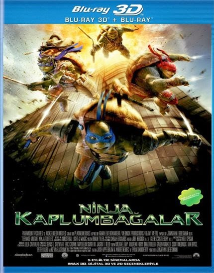 Ninja Kaplumbağalar - Teenage Mutant Ninja Turtles - 3D FiLM iNDiR