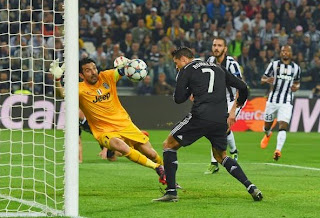 Second Goal Juventus 1-1 Real Madrid