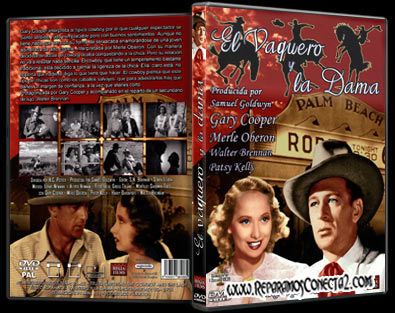 Carátula, Cover, Dvd:El Vaquero y la Dama | 1938 | The Cowboy and the Lady