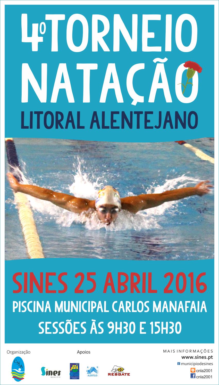 4º Torneio de Natação do Litoral Alentejano