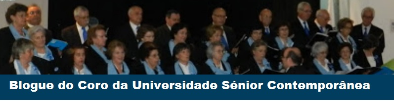 Blogue do Coro da Universidade Sénior Contemporânea