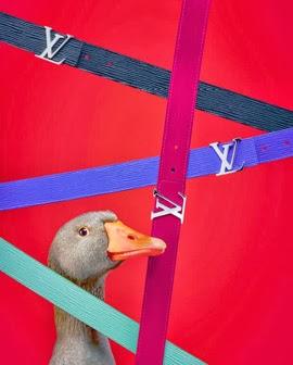 Louis Vuitton el arte de regalar cinturones