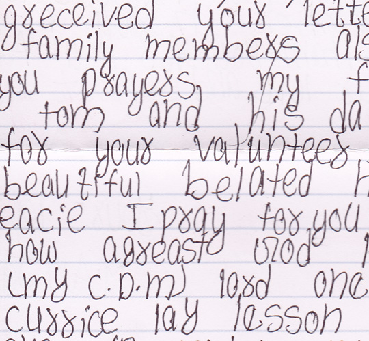 My Compassion Kids: Letter from Anjali