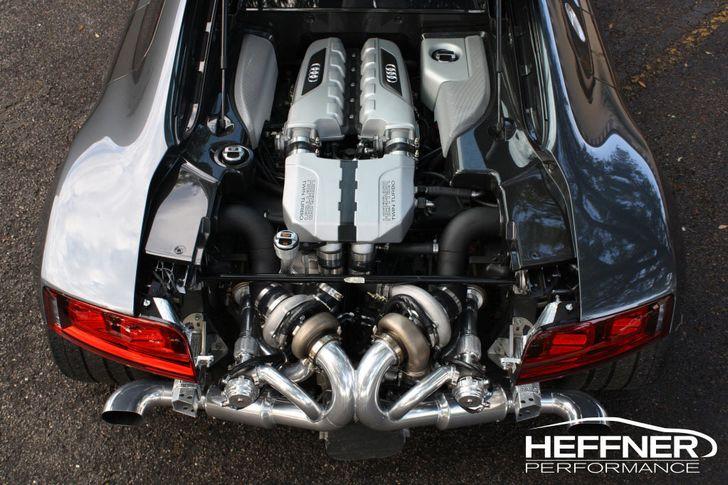 Heffner Performance Audi R8 V10 twin turbo