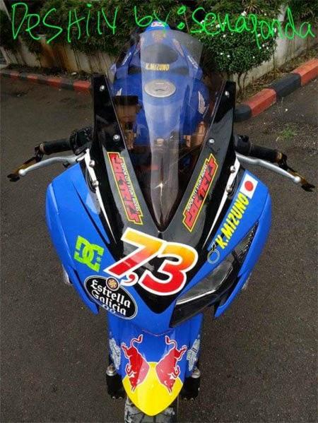 gambar modifikasi Honda CBR K45 terbaru