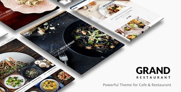 Free Responsive WordPress Restaurant Theme 2015