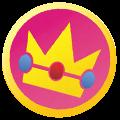 Emblema peach